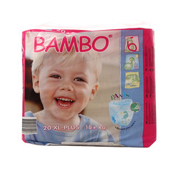 班博Bambo 婴儿学习裤小包装/拉拉裤6+号20片