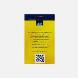 【2盒新西兰直邮包邮包税】 Manuka Health MGO 400+ 蜜纽康麦卢卡蜂蜜蜂胶润喉糖 柠檬味 100g