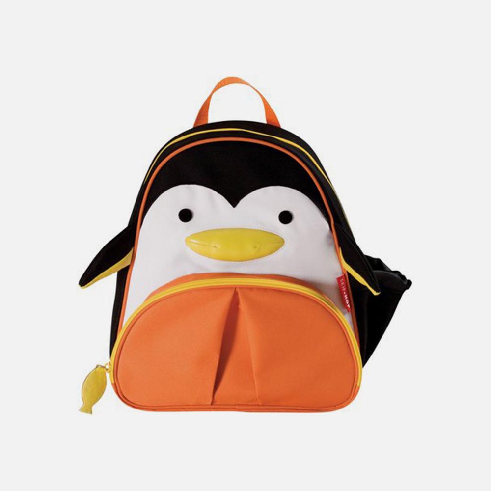 美国直邮skip hop动物园儿童书包企鹅图案
