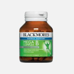 2瓶澳洲直邮Blackmores复合多种维他命B族 75片*2
