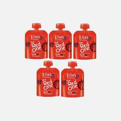 【包邮包税】英国直邮Ella's  Kitchen有机红色果泥90G (5包装)