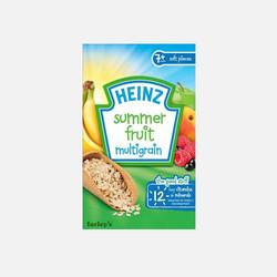 【包邮包税】英国直邮亨氏婴幼儿营养米粉 夏日水果口味 120g*2盒(7个月以上)