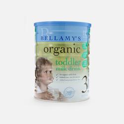 【包邮包税】澳大利亚Bellamy's贝拉米有机婴儿牛奶粉3段(12个月以上宝宝)900g【保税区急速发货】