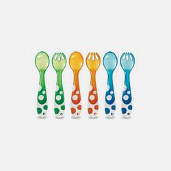 美国直邮Munchkin麦肯齐宝宝训练叉勺套装 6支装 清仓产品 数量有限
