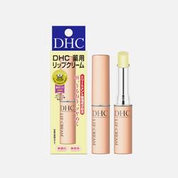 【包邮包税】日本蝶翠诗DHC 无色天然橄榄润唇膏1.5g