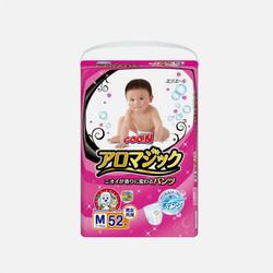【包邮】日本大王天使魔幻M52片(6-11kg)拉拉裤