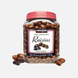 【包邮包税】美国直邮Kirkland科克兰葡萄干巧克力豆1530g