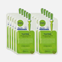 韩国直邮【包邮包税】MEDIHEAL/美迪惠尔 可莱丝茶树精华面膜 10片/盒