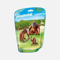 新加坡直邮【包邮包税】摩比Playmobil 猩猩一家