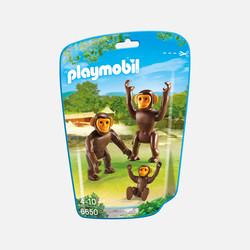 新加坡直邮【包邮包税】摩比Playmobil 黑猩猩一家
