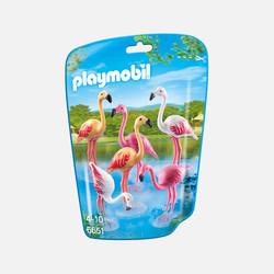新加坡直邮【包邮包税】摩比Playmobil 一群火烈鸟