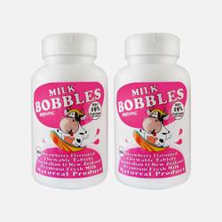 2瓶包邮包税澳洲Milk Bobbles 学生高钙奶片 草莓味 180粒*2