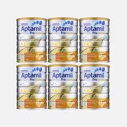 包邮包税澳洲直邮Aptamil爱他美白金版婴儿牛奶粉1段 900g*6