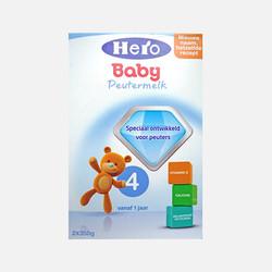 香港直邮【包邮包税】荷兰Hero Baby美素奶粉4段(12-24个月宝宝)800g