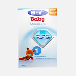 香港直邮【包邮包税】荷兰Hero Baby美素奶粉1段(0-6个月宝宝)800g