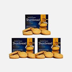 【包邮包税3盒】ManukaHealth蜜纽康麦卢卡蜂蜜黄油曲奇饼干250g/16块香甜松软 新西兰直邮