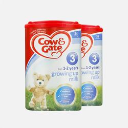 【包邮包税 2罐装】英国牛栏 Cow&Gate 婴幼儿奶粉 3段1-2岁 900g