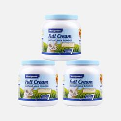 澳洲直邮【包邮包税】Maxigenes 美可卓 全脂高钙牛奶粉 1kg *3