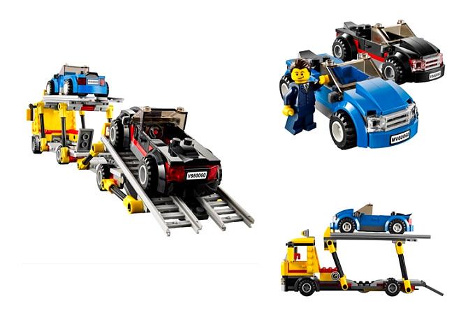 lego乐高城市系列-汽车运输车 60060 - 宝贝格子