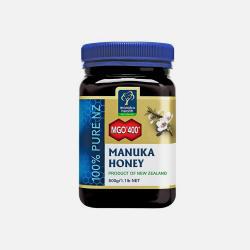 包邮包税新西兰直邮ManukaHealth蜜纽康天然麦卢卡蜂蜜MGO400+500g舒缓急性胃炎(孕妇及哺乳期妇女慎用)