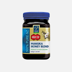 包邮包税新西兰直邮ManukaHealth蜜纽康天然麦卢卡蜂蜜MGO30+500g(孕妇及哺乳期妇女慎用)
