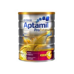 澳洲直邮【包邮包税】Aptamil爱他美白金版 婴儿牛奶粉4段 900g*3罐