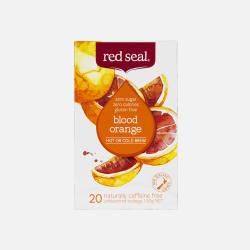 包邮包税新西兰直邮Redseal红印血橙水果茶20包无卡路里不含糖