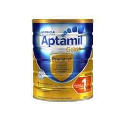 澳洲直邮【包邮包税】Karicare Aptamil 可瑞康爱他美金装 婴儿牛奶粉1段 900g *6罐