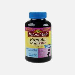 Nature Made/Prenatal Multi莱萃美孕妇综合维生素+DHA 150粒 (美国直邮/包邮包税)