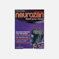 英国直邮【包邮包税】Vitabiotics Neurozan 优化大脑功能 提高记忆力 30粒