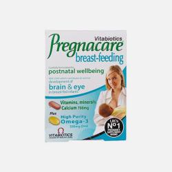 Vitabiotics/ Pregnacare 哺乳期复合维生素+叶酸鱼油DHA(产后喂养)56片+28粒 (英国直邮/包邮包税)