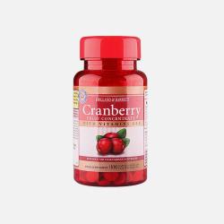 英国直邮【包邮包税】Holland & Barrett荷柏瑞 蔓越莓精华胶囊 100粒