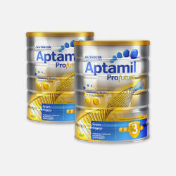 澳洲直邮【包邮包税】Aptamil爱他美白金版婴儿牛奶粉3段 900g*2  优质物流