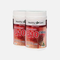 Healthy Care辅酶Q10 150mg100粒*2瓶 包邮包税澳洲直邮