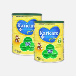 冰点价包邮包税澳直邮可瑞康羊奶粉2段新包装6-12个月900g*2