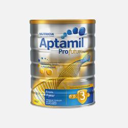 澳洲直邮【包邮包税】六罐 Aptamil爱他美白金版 婴儿牛奶粉3段 900g