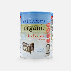 【7个工作日极速达】【包邮包税3罐装】澳洲直邮Bellamy's贝拉米2段有机婴儿牛奶粉(6个月以上)900g 3罐装