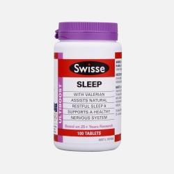 2瓶包邮包税新西兰直邮Swisse纯植物精华改善睡眠片 100粒*2