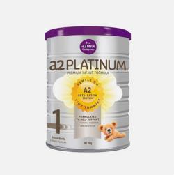 A2白金系列婴幼儿奶粉1段900g*2  澳洲直邮【包邮包税】
