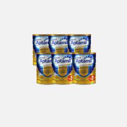 【6罐澳洲直邮包邮包税】爱他美金装 婴儿牛奶粉1段 900g *6罐