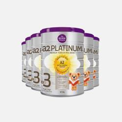 最新【6桶包邮包税澳洲直邮】A2白金系列婴幼儿奶粉3段900g*6  预售15天