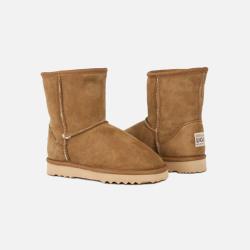 包邮包税澳洲直邮Urban UGG儿童雪地靴 澳洲原料纯手工制造 栗色 1双