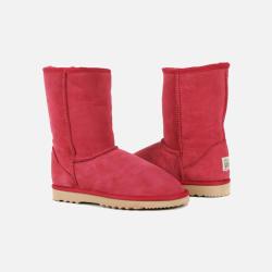 包邮包税澳洲直邮Urban UGG经典基础款 女款雪地靴 澳洲原料纯手工制造 红色 1双