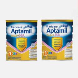 2罐优质物流包邮包税澳洲直邮爱他美 +HA防腹泻抗过敏奶粉 0-12个月900g*2
