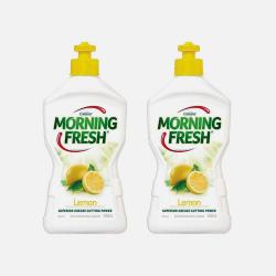 2瓶包邮包税澳洲直邮Morning fresh环保洗洁精柠檬味 400ml*2