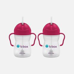 b.box重力饮水杯 宝宝饮水杯 红色*2个 包邮包税澳洲直邮