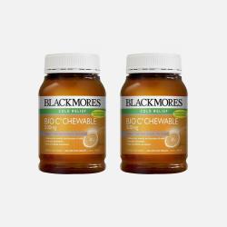 Blackmores高效天然活性维生素C咀嚼片 200粒*2瓶 澳洲直邮