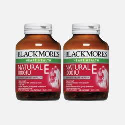 2瓶澳洲直邮Blackmores天然维生素E1000IU 100粒*2