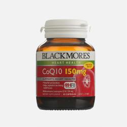 Blackmores 澳佳宝 保护心脏高浓缩辅酶Q10 150mg 30粒 3瓶 澳洲直邮 【包税包邮】