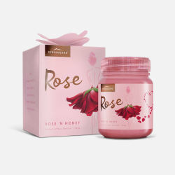Streamland 新溪岛 天然千叶玫瑰蜂蜜 礼盒装 340g 【新西兰直邮包邮包税】